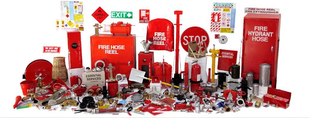 أنظمة إطفاء الحريق موقع ركائز للسلامة